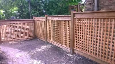 Lattice Fence TLF-02
